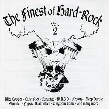Finest of Hard Rock vol 2 (CD)