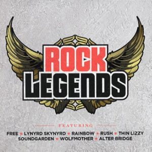 Rock Legends (CD)