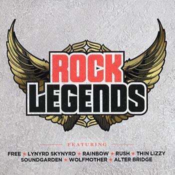 Rock Legends (CD)
