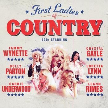 First Ladies of Country (2cd)(CD)