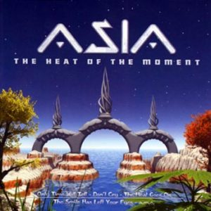Asia -Heat of the moment/Live (CD)
