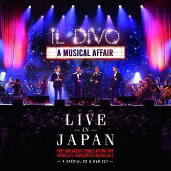 Il Divo -A musical affair/Live in Japan(cd+dvd(CD?DVD)