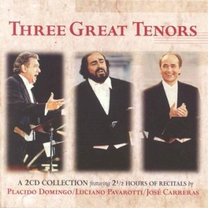 Three Great Tenors – Collection (2cd)(CD)