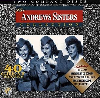 Andrews Sisters - Collection 40 great tracks (2cd)(CD)