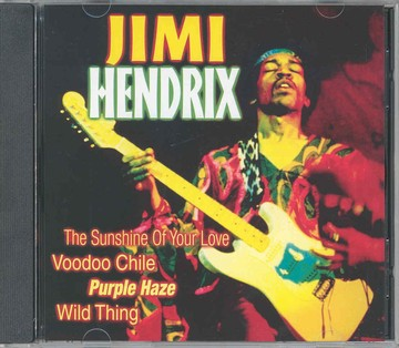 Hendrix Jimi -The sunshine of your love (CD)