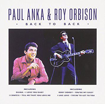 Anka Paul & Orbison Roy - Back to back (CD)
