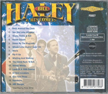 Haley Bill- Rock around the clock (CD)