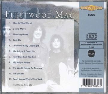 Fleetwood Mac - Fleetwood Mac (CD)