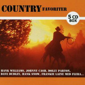 Country Favoriter (5cd)(CD)