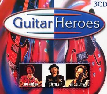 Guitar Heroes (Hendrix/Santana/Clapton) (3cd)(CD)