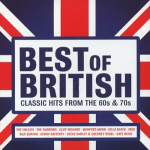 Best Of British / Classic Hits from 60s & 70s (CD)