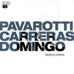 Pavarotti Carreras Domingo – Nessun dorma (2cd)(CD)