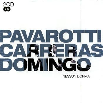 Pavarotti Carreras Domingo - Nessun dorma (2cd)(CD)