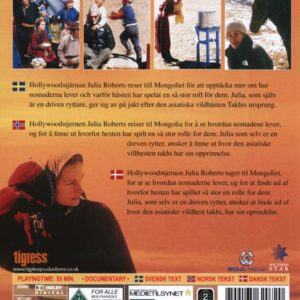 In the Wild-Mongolian horsemen with Julia Roberts (DVD)