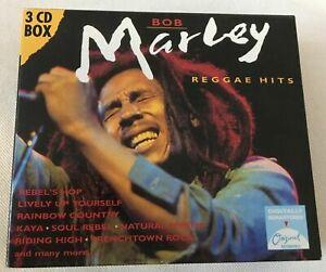 Marley Bob – Reggae hits (3cd)(CD)