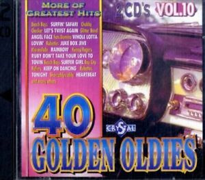 40 Golden Oldies Vol.10 (2cd)(CD)