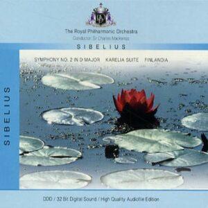 Sibelius -Symphony No 2 in D major (Mackerras) (CD)