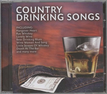 Country dringing songs (CD)