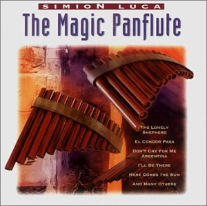 Luca Simion – The magic Panflute (CD)