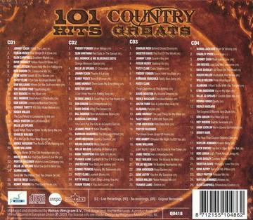 101 Hits Country Greats (4cd)(CD)