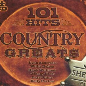 101 Hits Country Greats (4cd)(CD)