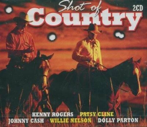 Shot of Country (2cd)(CD)