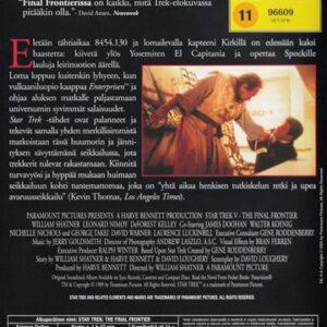Star Trek –  the final frontier (DVD