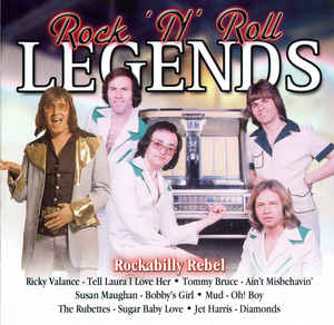 Rock n roll Legends Rockabilly rebel (CD)