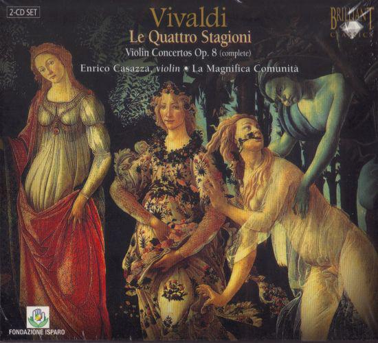 Vivaldi - Le Quattro stagioni the 4 seasons (CD)