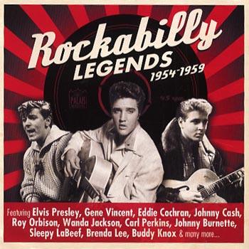 Rockabilly Legends 1954-59 (2cd)(CD)