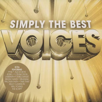 Simply The Best Voices (3cd)(CD)
