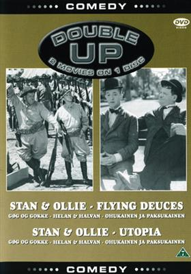 Helan & Halvan - Flying Deuces/Utopia(2filmer) (DVD)