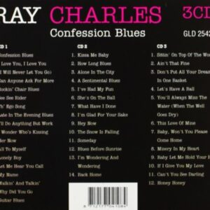 Charles Ray – Confession Blues (3cd)(CD)