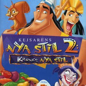 Kejsarens nya stil 2 / Kronks nya stil (DVD)