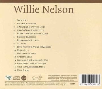 Nelson Willie - Country sessions (2cd)(CD)