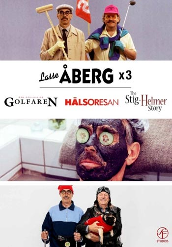 Lasse Åberg x 3 Box 2 (2dvd)(DVD)